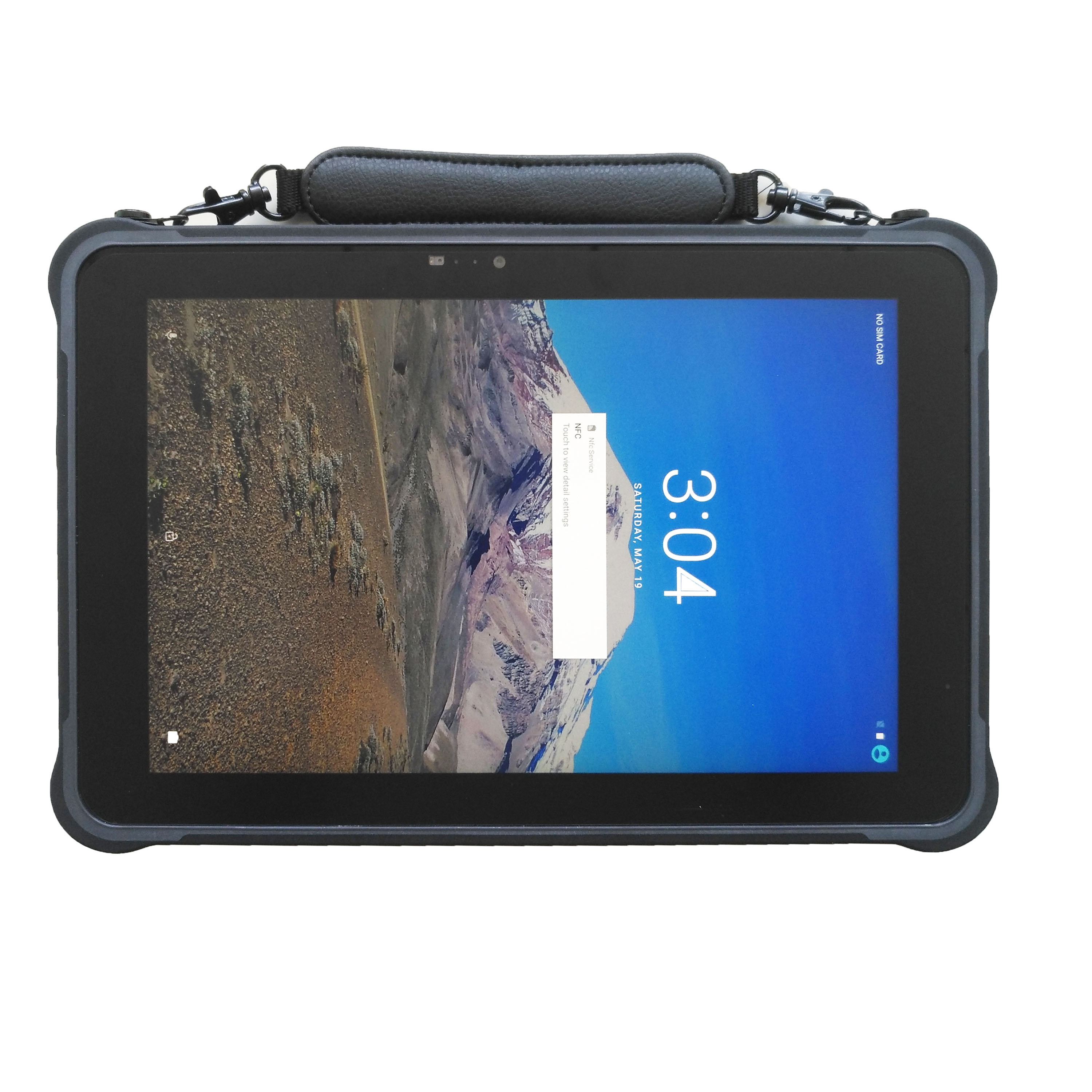 Octa-core sunshine readable 10.1 inch hot swap android 7.0 rugged tablet