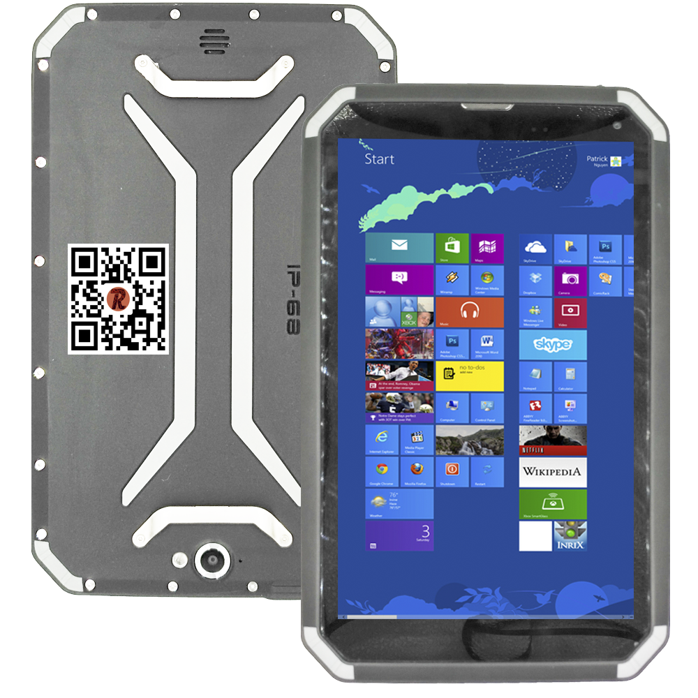 8 inch super thin 1920*1200 rugged tablet