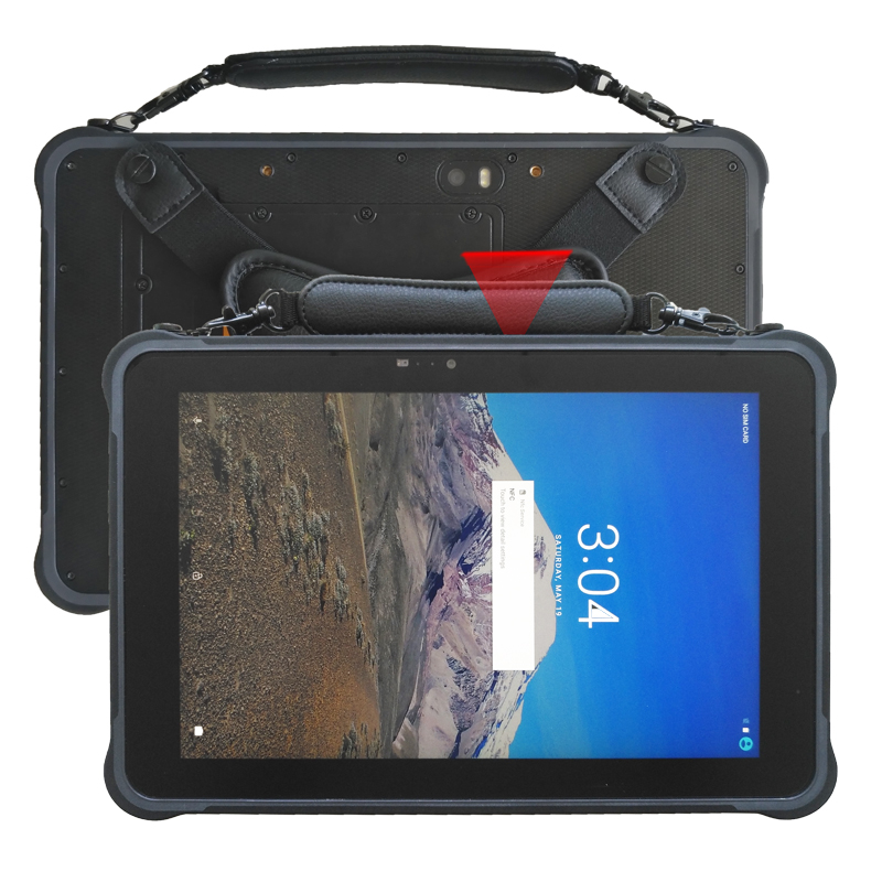 enough extend portable 10.1 inch hot swap android 7.0 rugged tablet