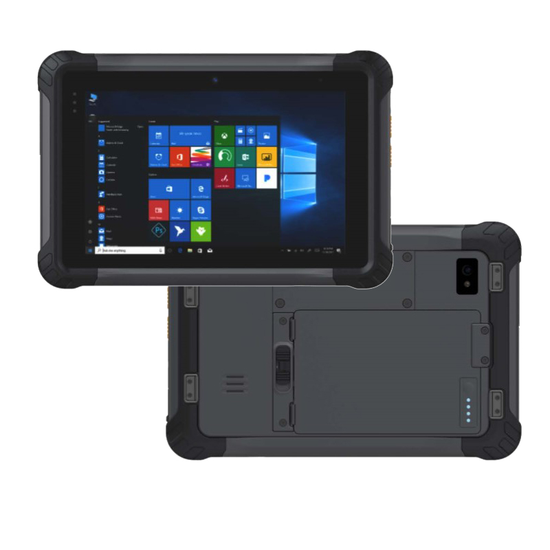 7 inch hot swap battery windwos 10  RAM 4GB ROM 64GB Rugged Tablet RT7164
