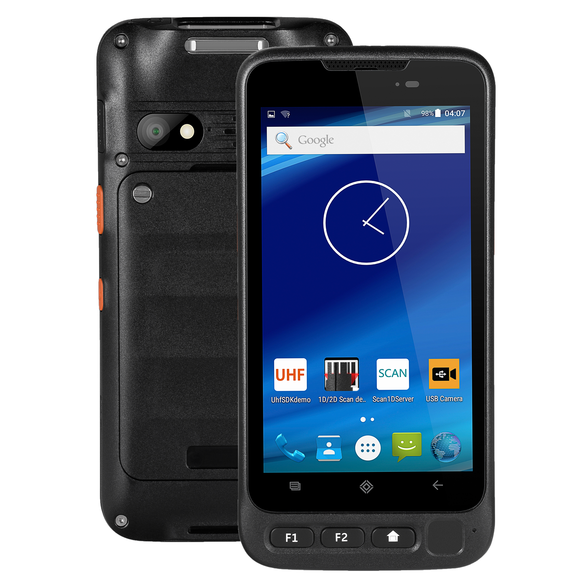 5 inch Octa core android 7.0 rugged handheld smart terminal