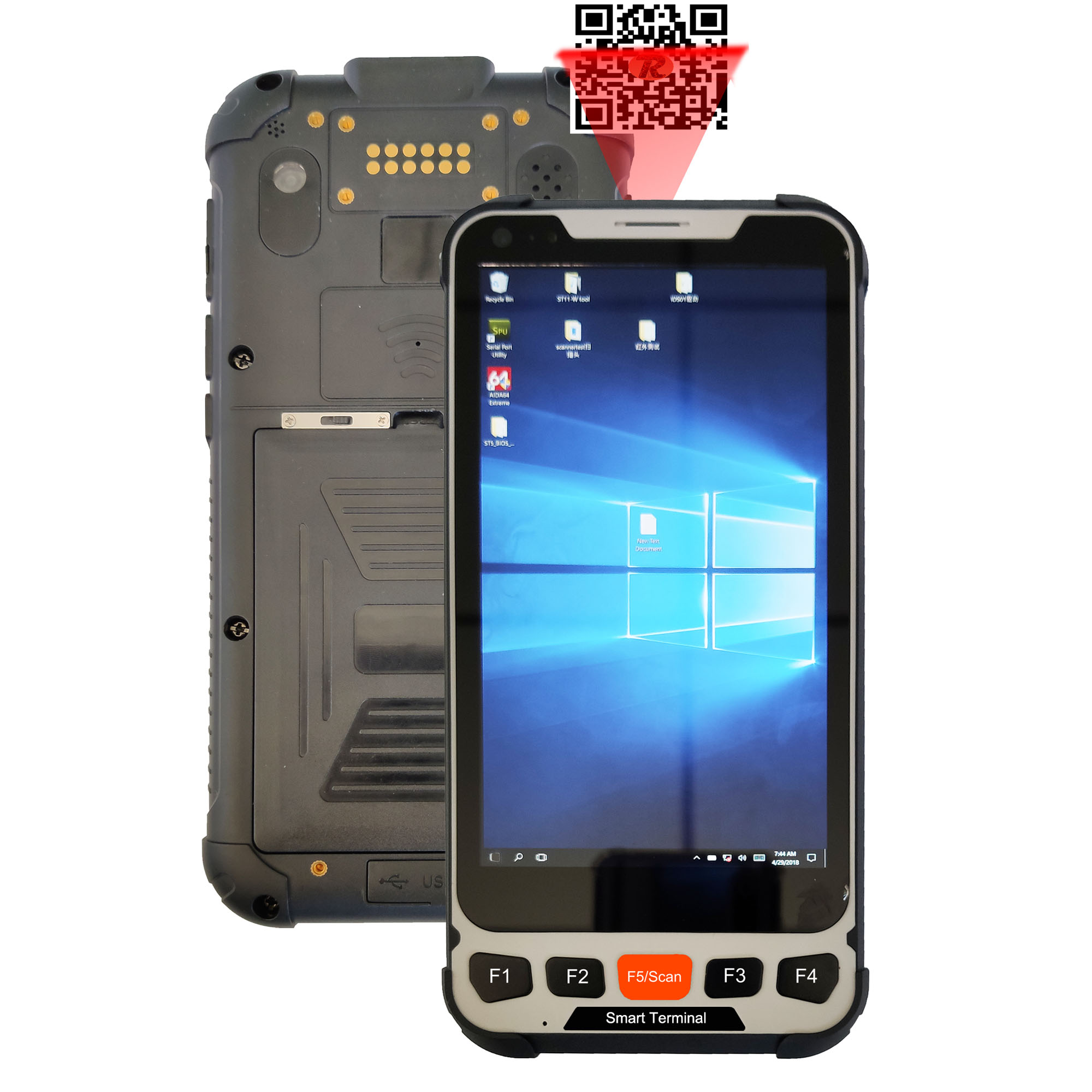 5.5 inch Windows Rugged Smart handheld terminal