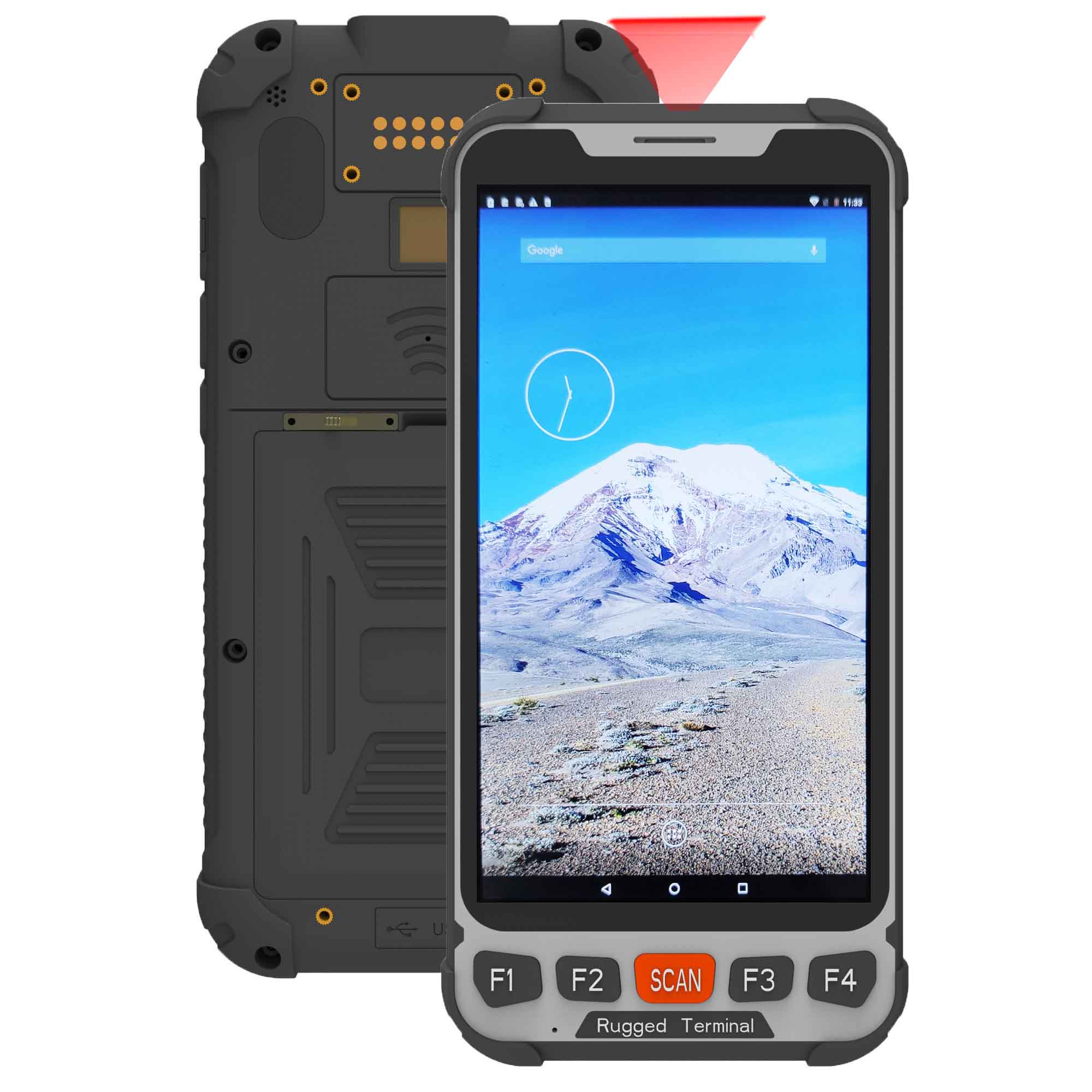 5.5 inch android rugged handheld terminal